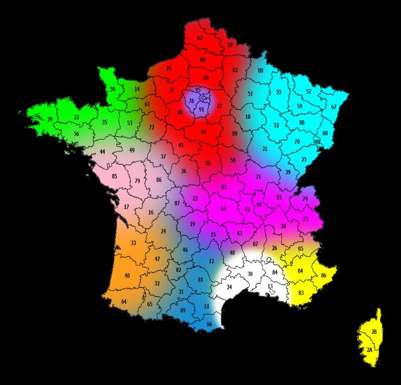 Répartitions des stations techniques agréées SAV PLUS par départements.