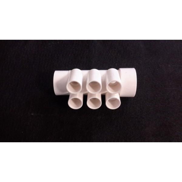 NOURRICE PVC BLANC 6 SORTIES