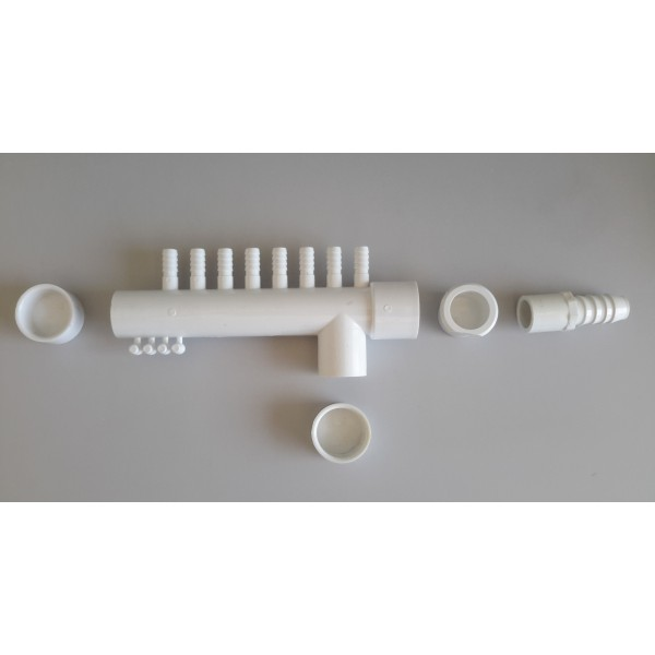 KIT NOURRICE PVC BLANC 8 SORTIES