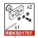 KIT SUPPORT ROULEMENT COMPLET X63X-AN-WB PLV
