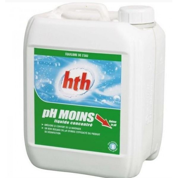 pH MOINS LIQUIDE - hth