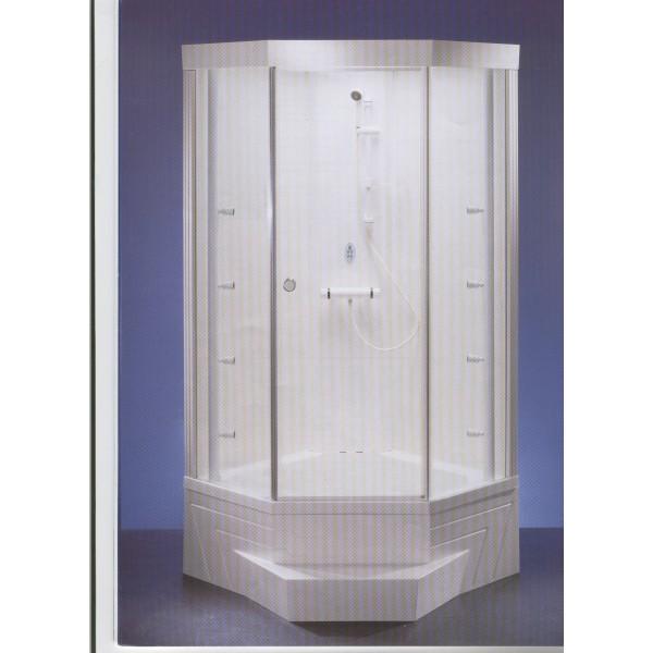 barre de douche coulissante blanche sav jedo sav plus With porte de douche coulissante avec pieces detachees spot salle de bain