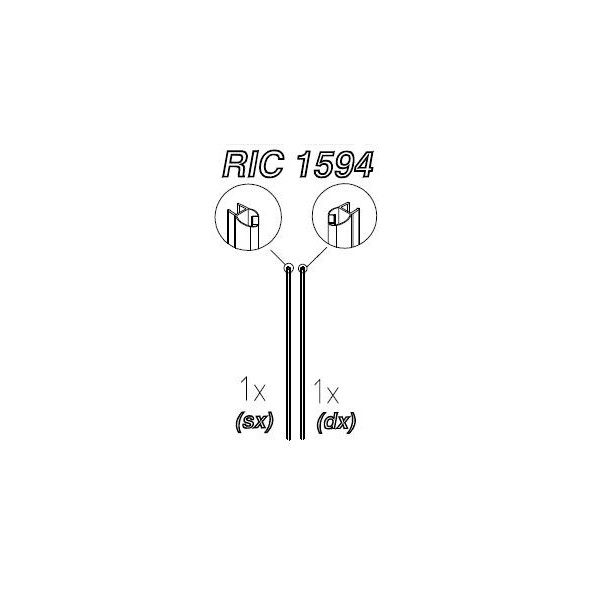 ENSEMBLE JOINTS MAGNETIQUES - RIC1594