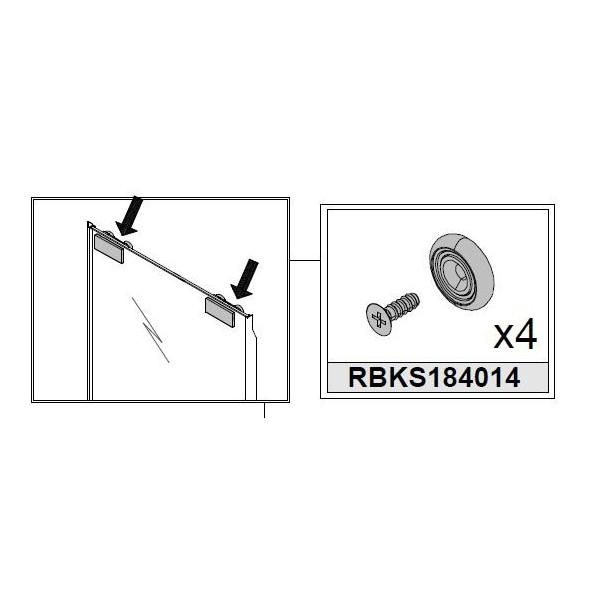 KIT DE COULISSEMENT SUPERIEUR - RBKS18401400