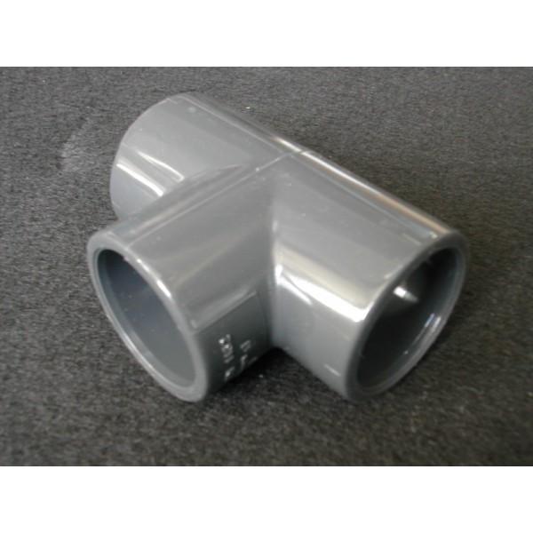 TE PVC PRESSION diamètre 40