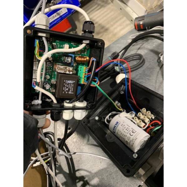 Cartouche thermostatique avec robinet d'arrêt intégré